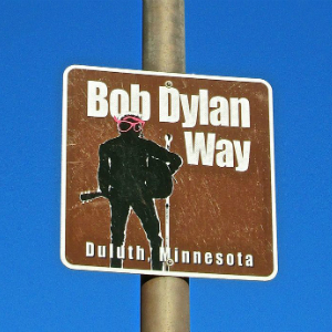 Bob Dylan Way downtown Duluth, MN